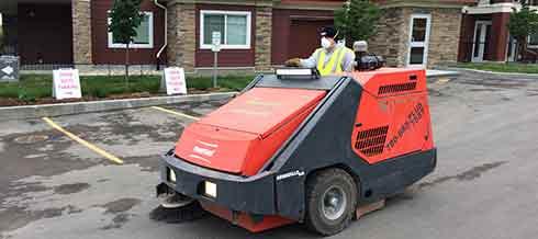 Dustless sweeper