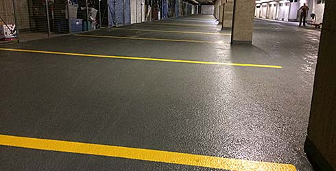 Link to Parkade Cleaning page